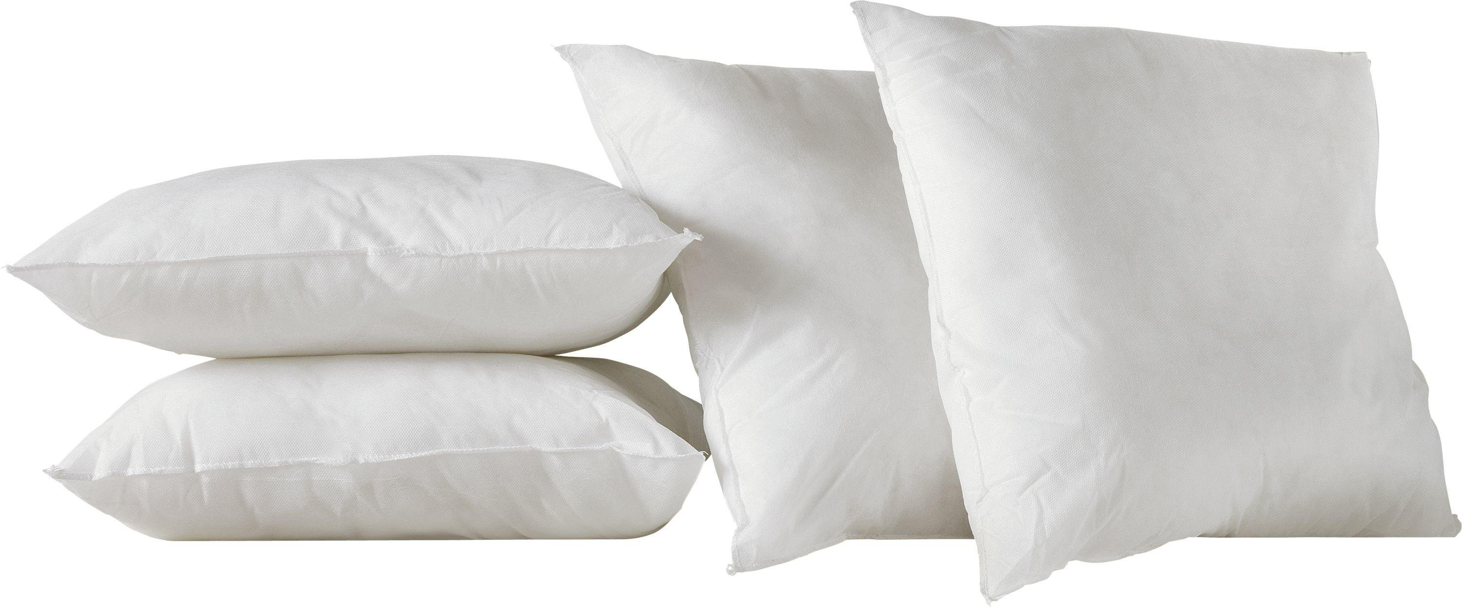 Argos Home Pack of 4 Cushion Pads - White
