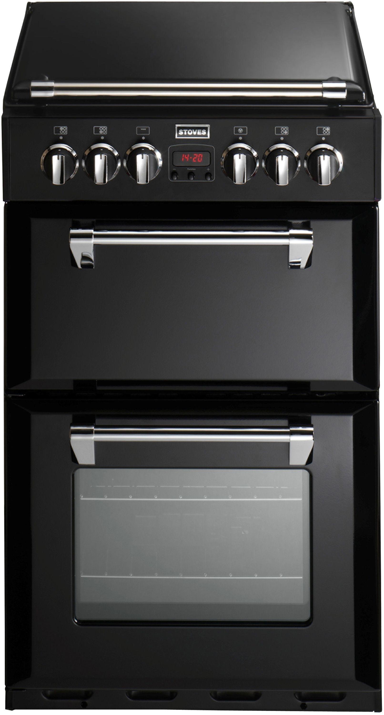 Stoves Richmond 550DFW Double Dual Fuel Cooker - Black