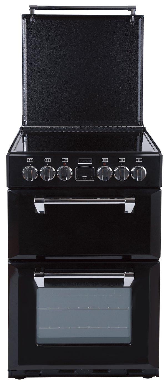 Stoves Richmond 550E MiniRange Double Cooker - Black