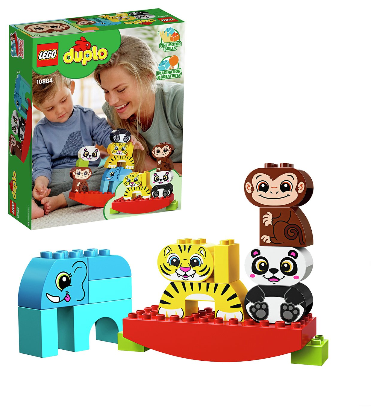 LEGO Duplo My First Balancing Toy Animals - 10884