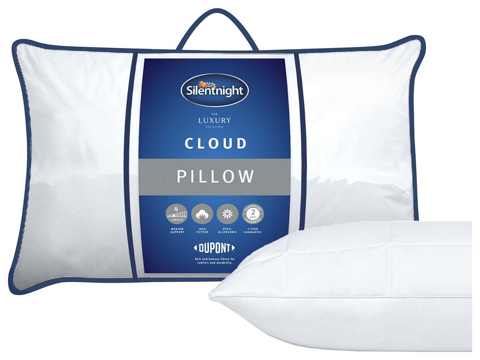 Silentnight Quilted Cloud Pillow