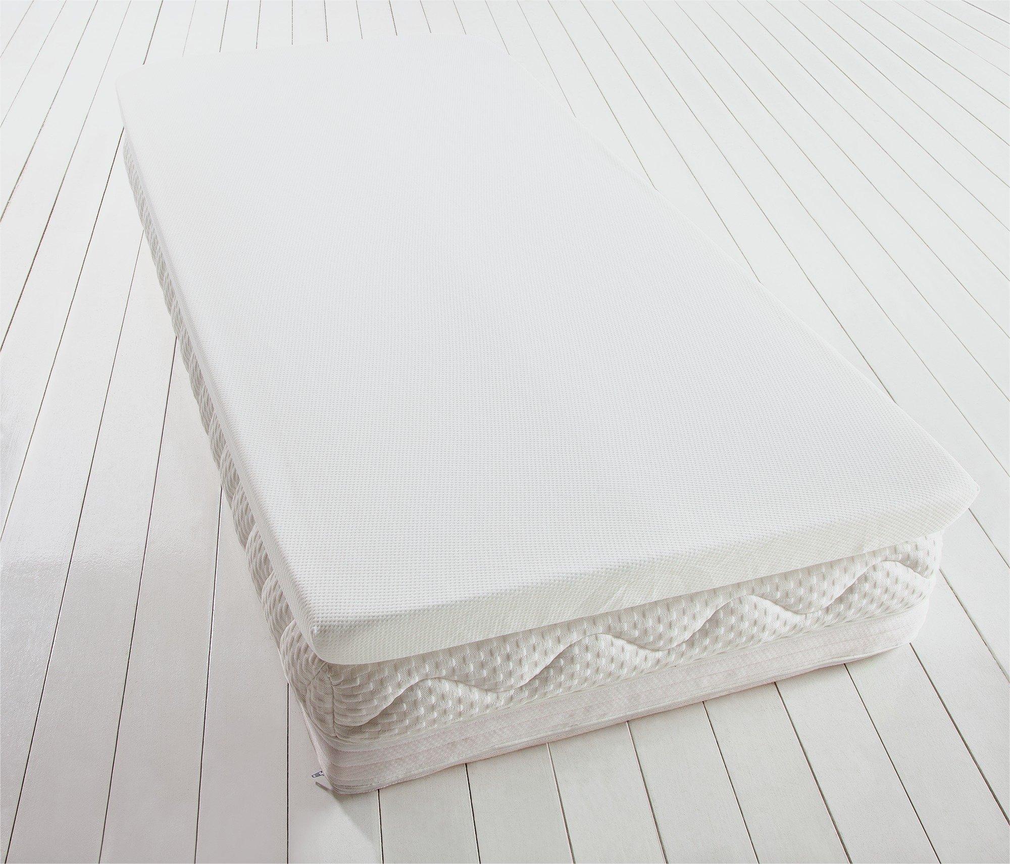 Argos Home Luxury Memory Foam Mattress Topper - Single