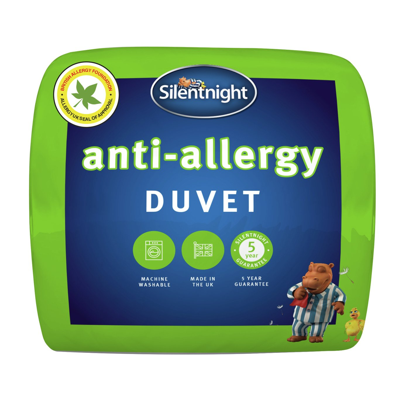 Silentnight Anti-Allergy 10.5 Tog Duvet - Single
