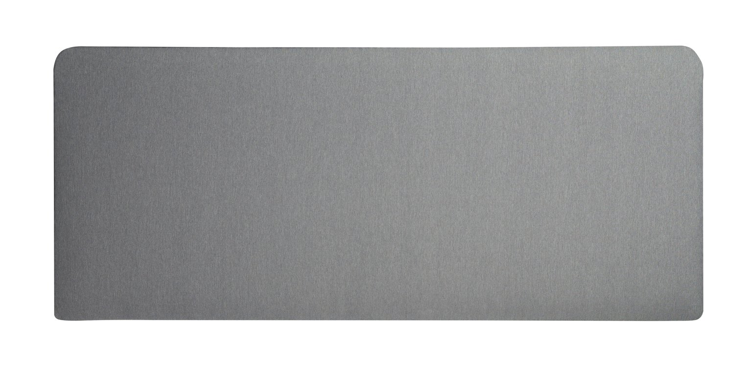 Silentnight Milan Single Headboard - Light Grey