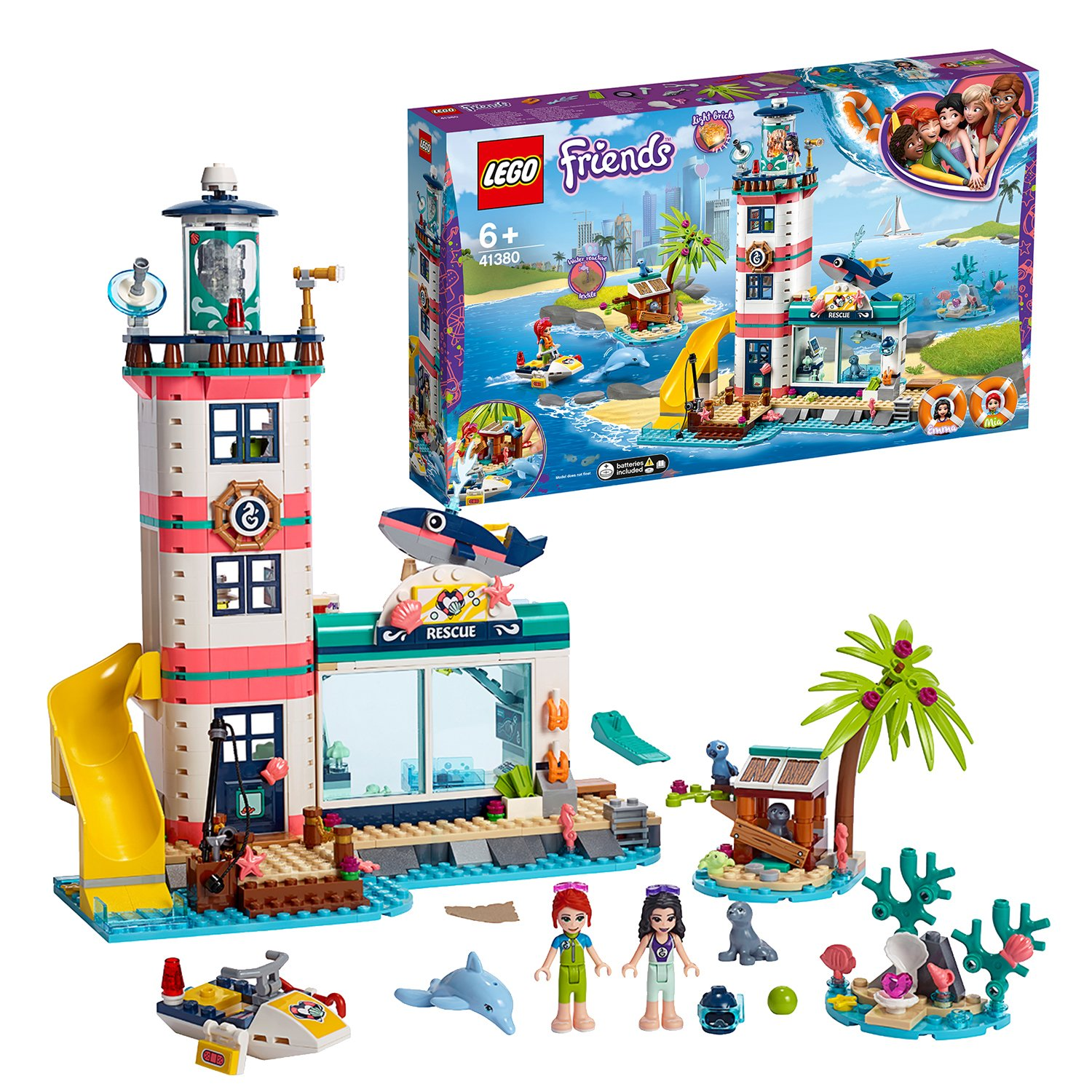 LEGO Friends Lighthouse Rescue Center Playset - 41380