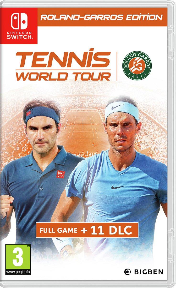 Tennis World Tour: Roland Garros Edn Nintendo Switch Game