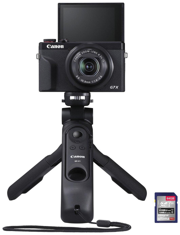 Canon PowerShot G7X Premium Compact Vlogger Camera - Sage
