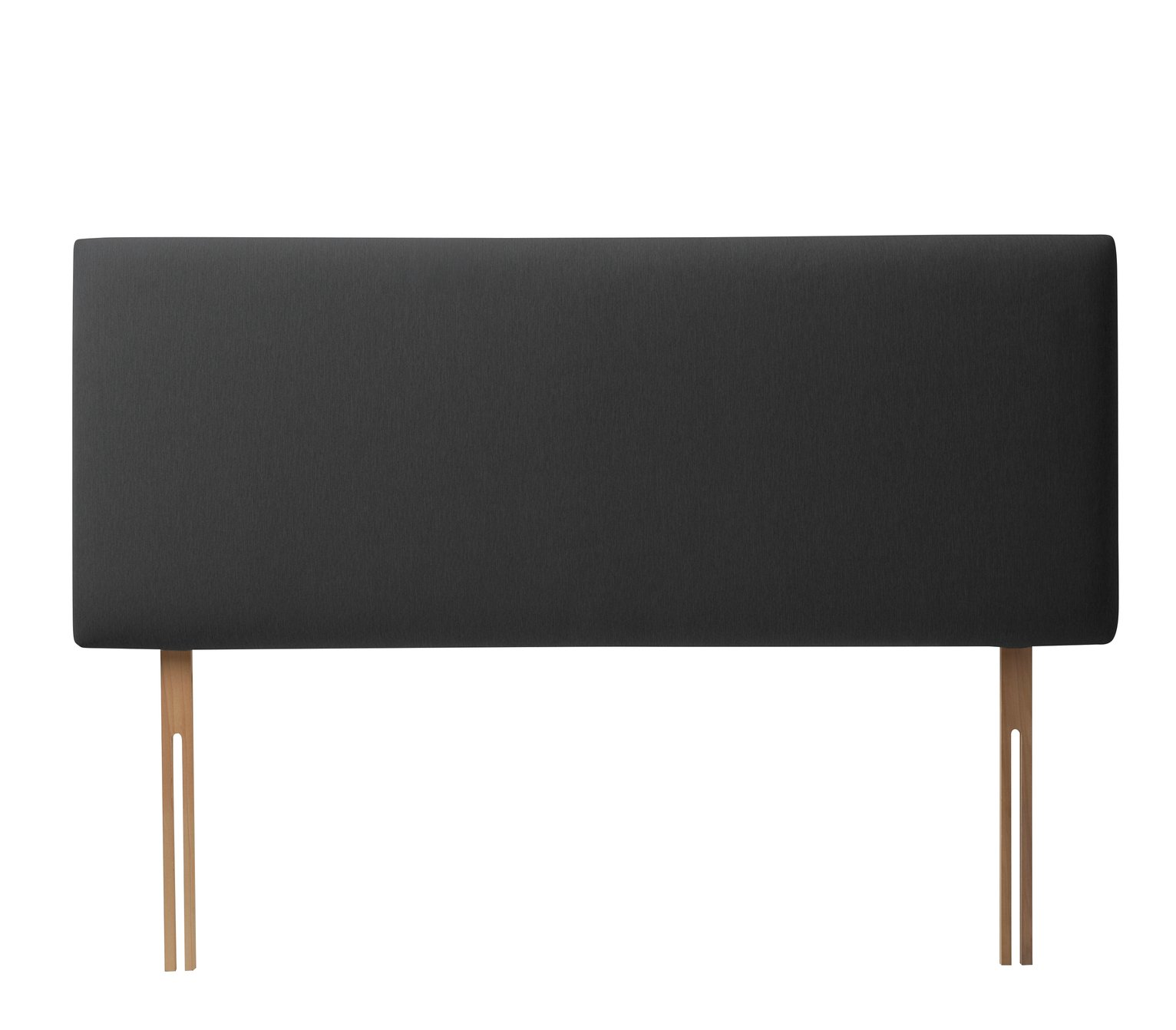 Silentnight Milan Single Headboard - Charcoal