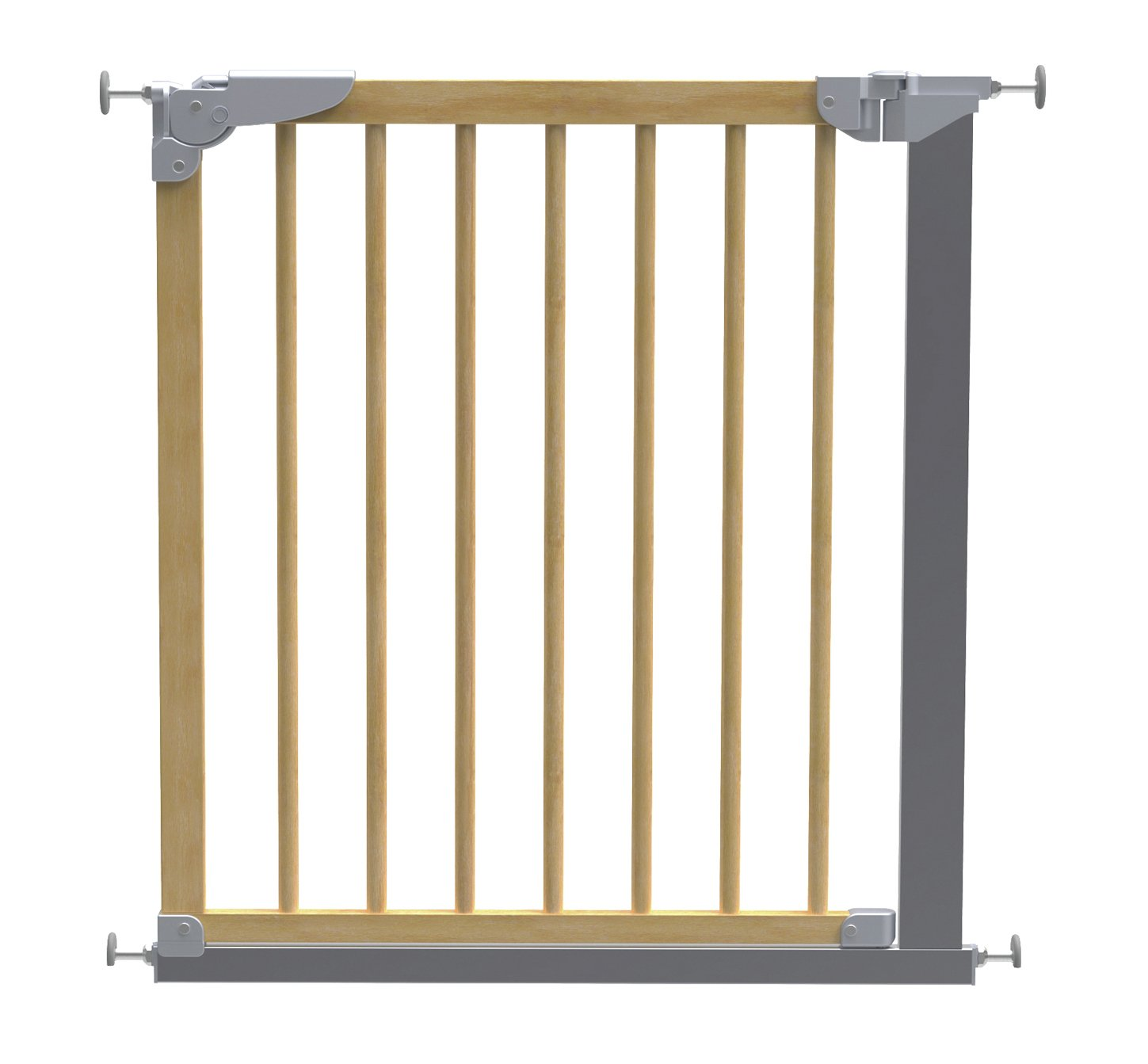 BabyDan - Designer Pressure Fit Safety Gate - Beech