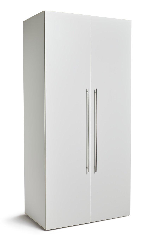 Argos Home Atlas 2 Door Tall Wardrobe - White