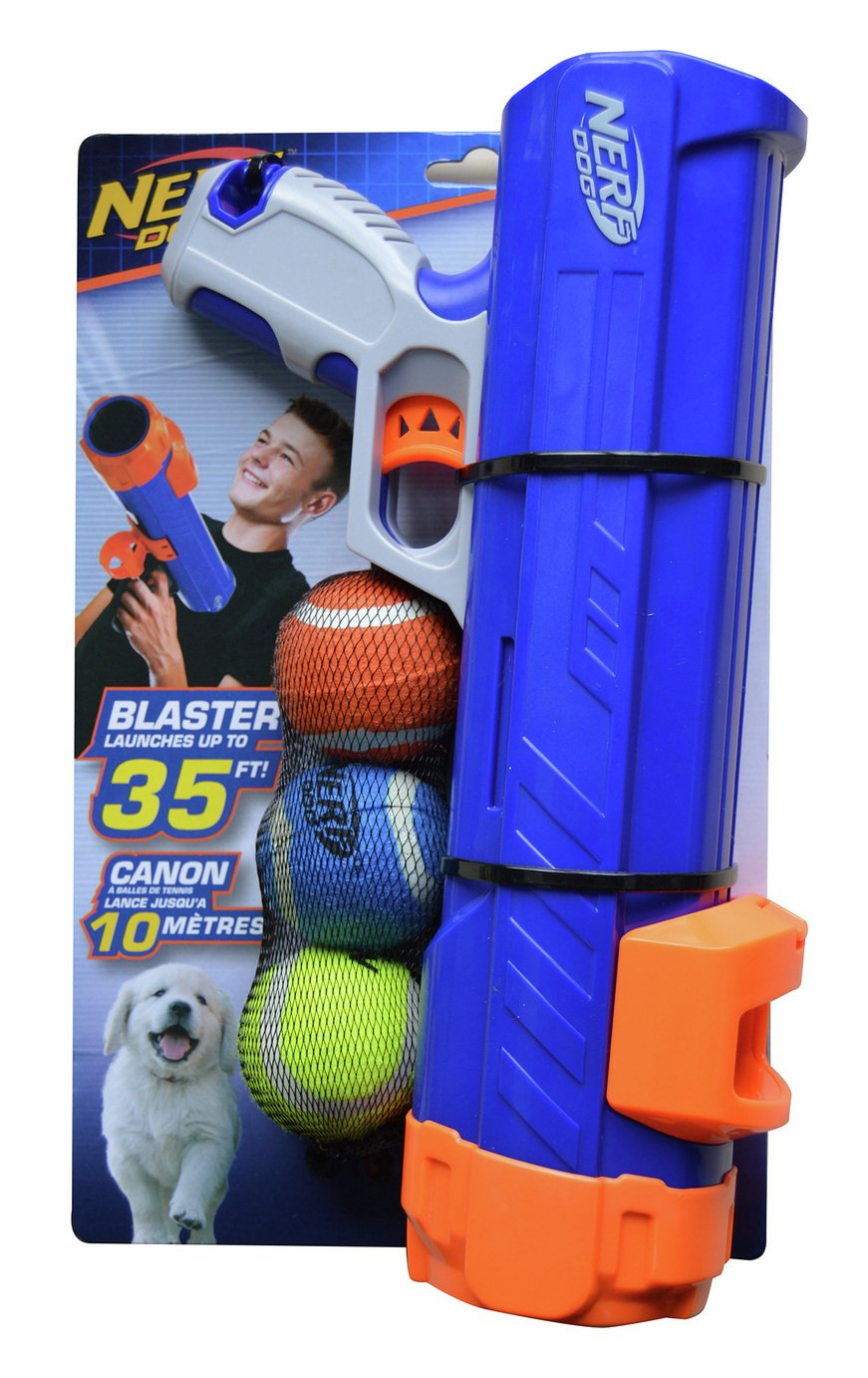 Nerf Dog Dogball Blaster for Small Dog or Puppy