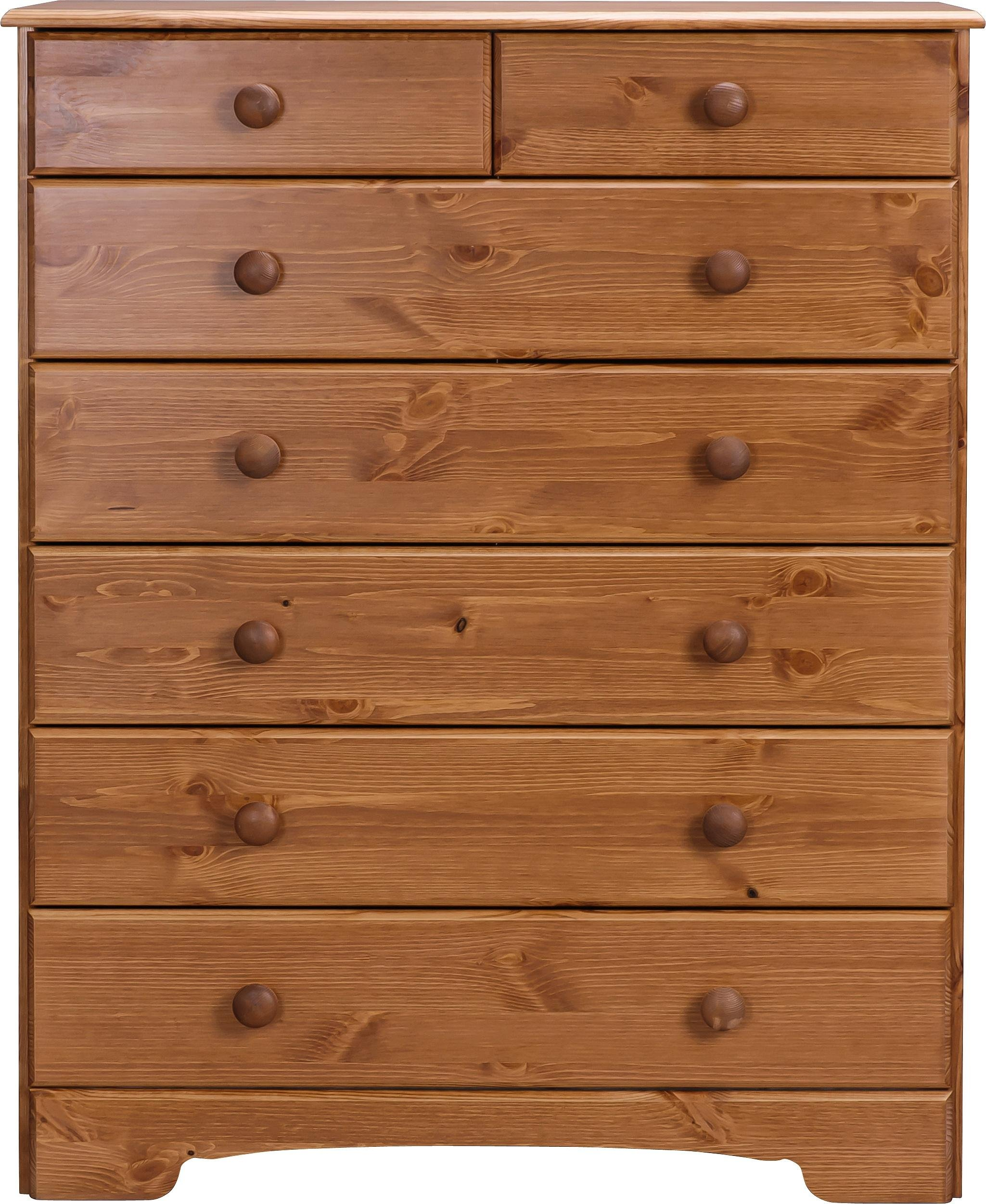 Argos Home Nordic 5+2 Drawer Chest of Drawers - Pine