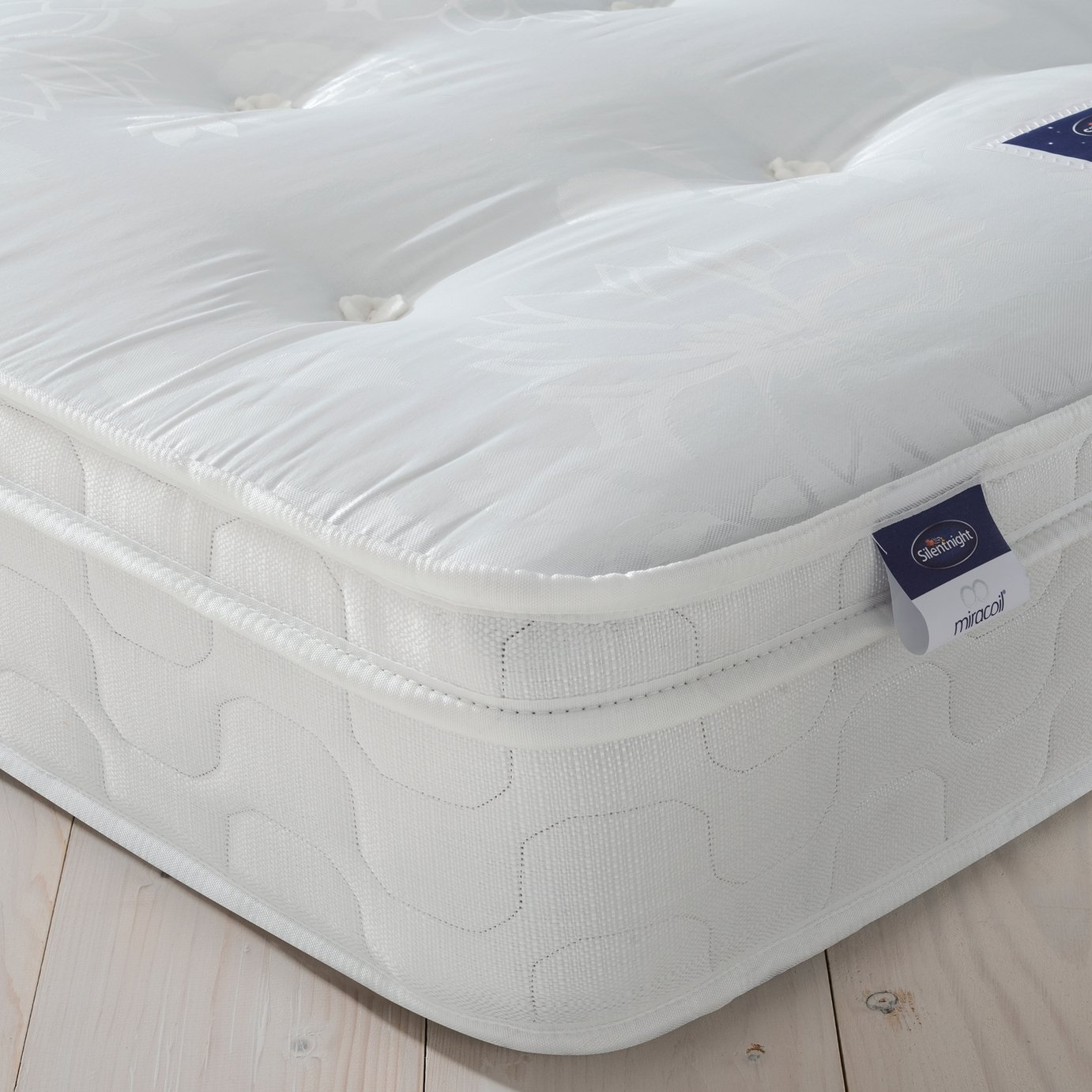 Silentnight Miracoil Travis Tufted Ortho Single Mattress