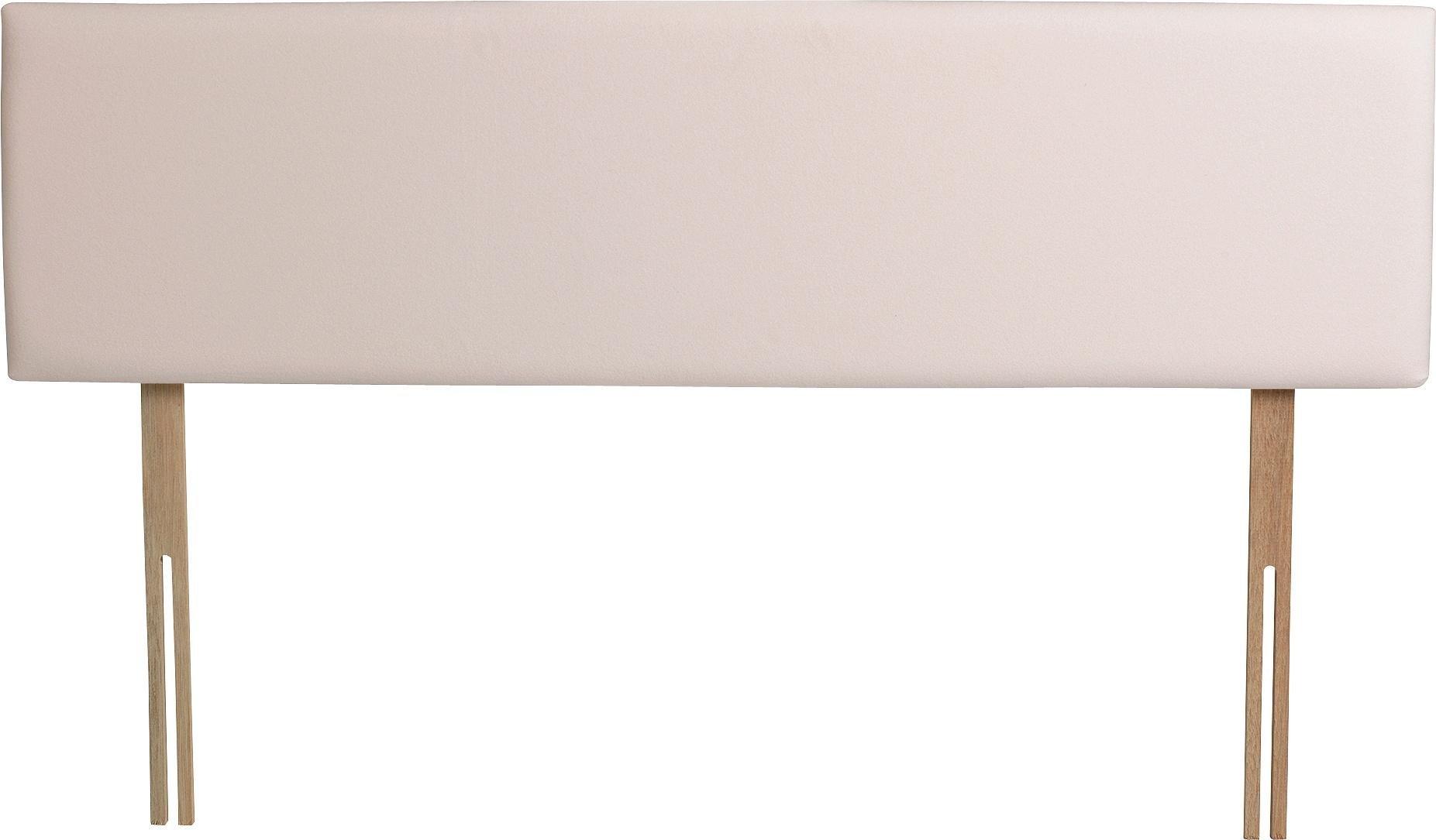 Airsprung Hollis Small Double Headboard - Cream