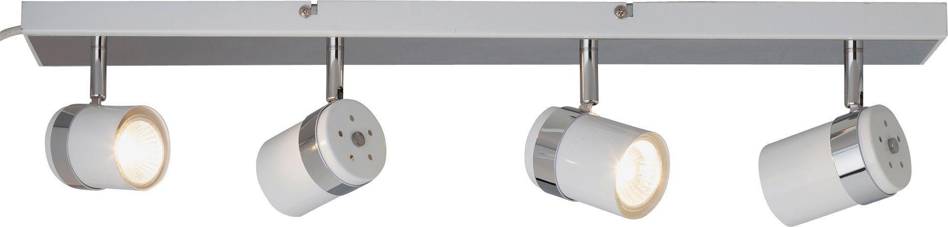 Argos Home - Shiro 4 Spotlight Bar - White and Chrome