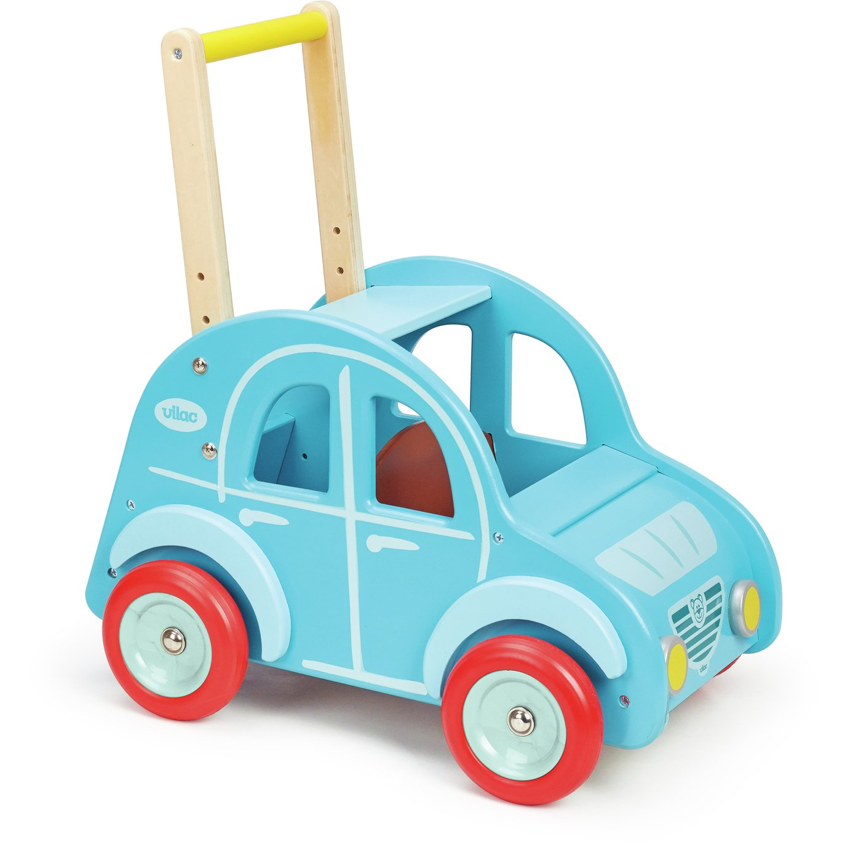 Vilac Wooden 2CV Car Baby Walker