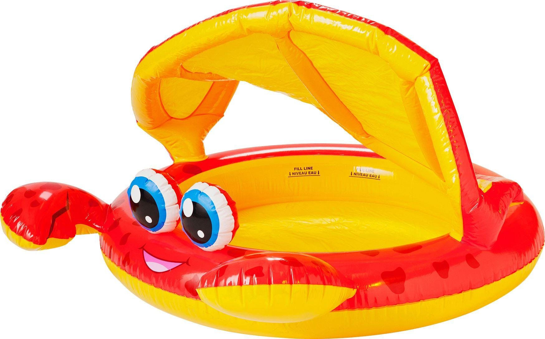 Chad Valley Crab Baby Pool and Ball Pit - 4.7ft