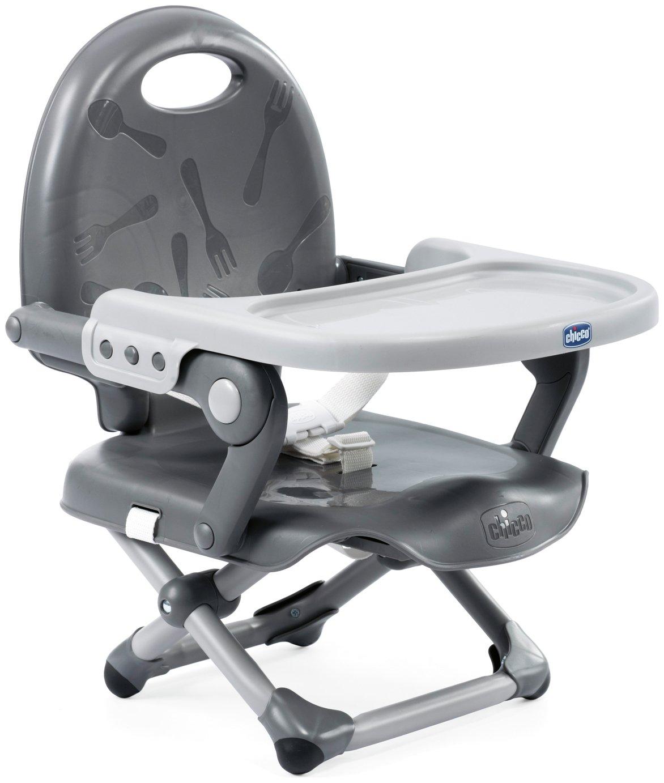 Chicco Pocket Snack Booster Seat - Dark Grey