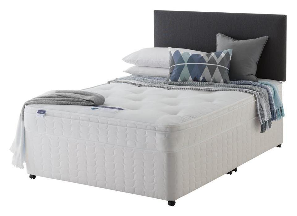 Silentnight - Travis Ortho Small - Double - Divan Bed at Argos