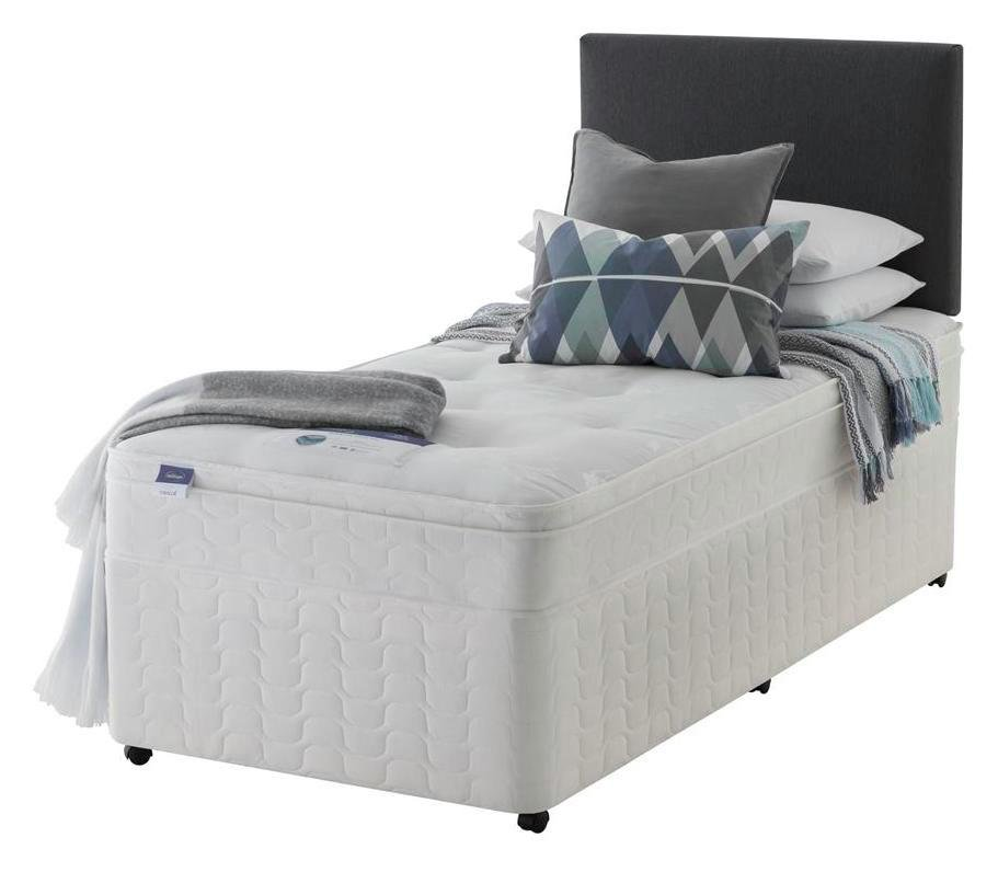 Silentnight - Miracoil Travis Ortho Single - Divan Bed at Argos