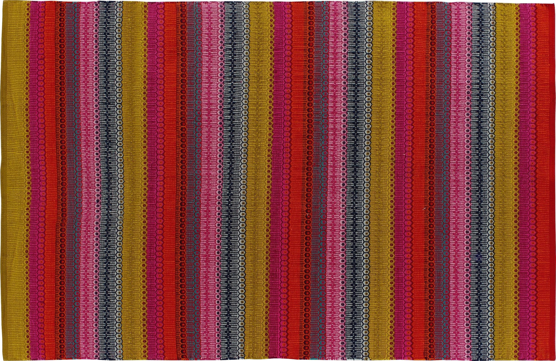 Habitat Agnes Flat Weave Rug - 120 x 180cm - Multicoloured