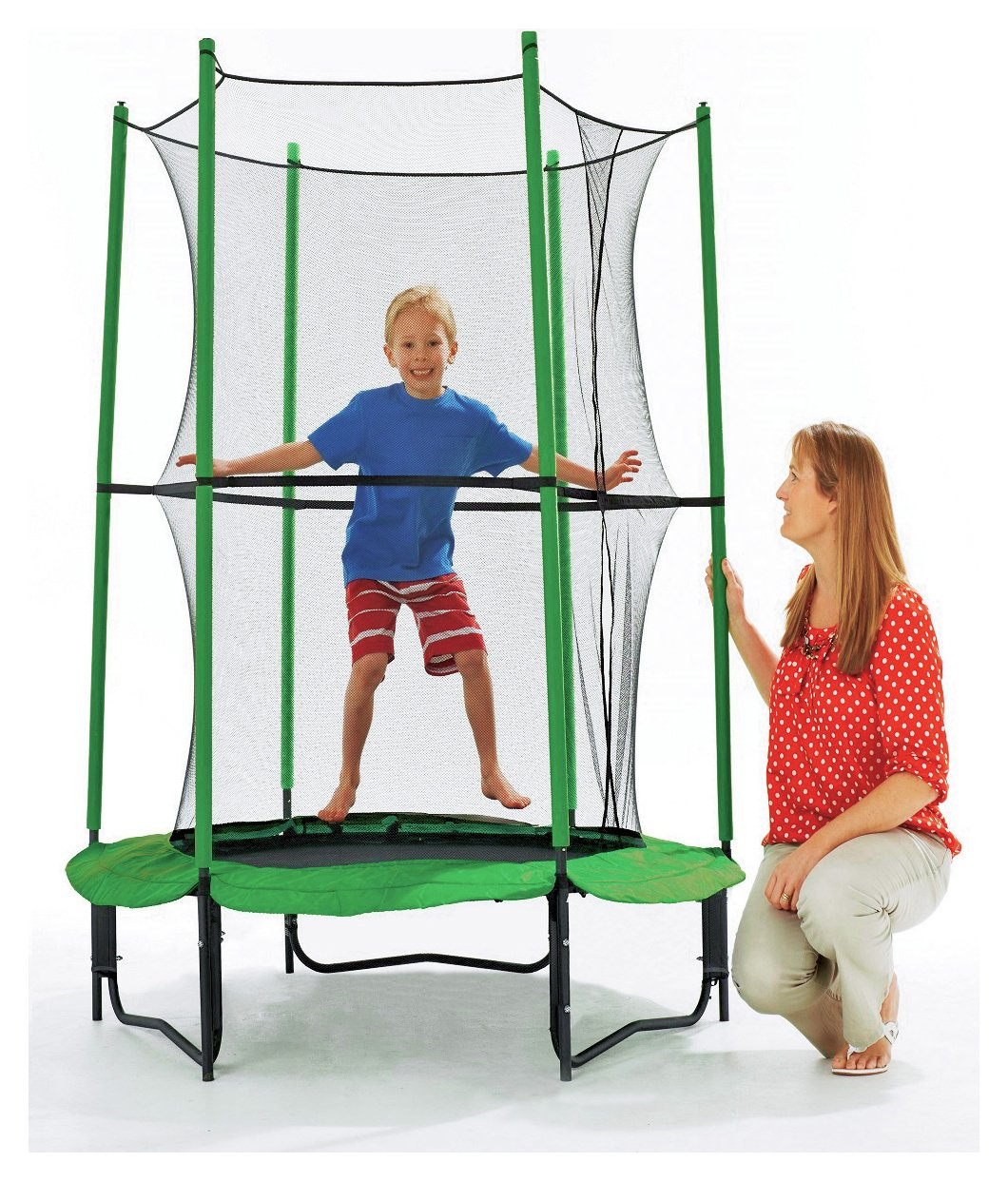 Chad Valley 4ft My First Trampoline with Enclosure