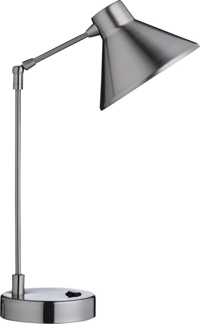 Habitat - Bobby Desk Lamp - Steel