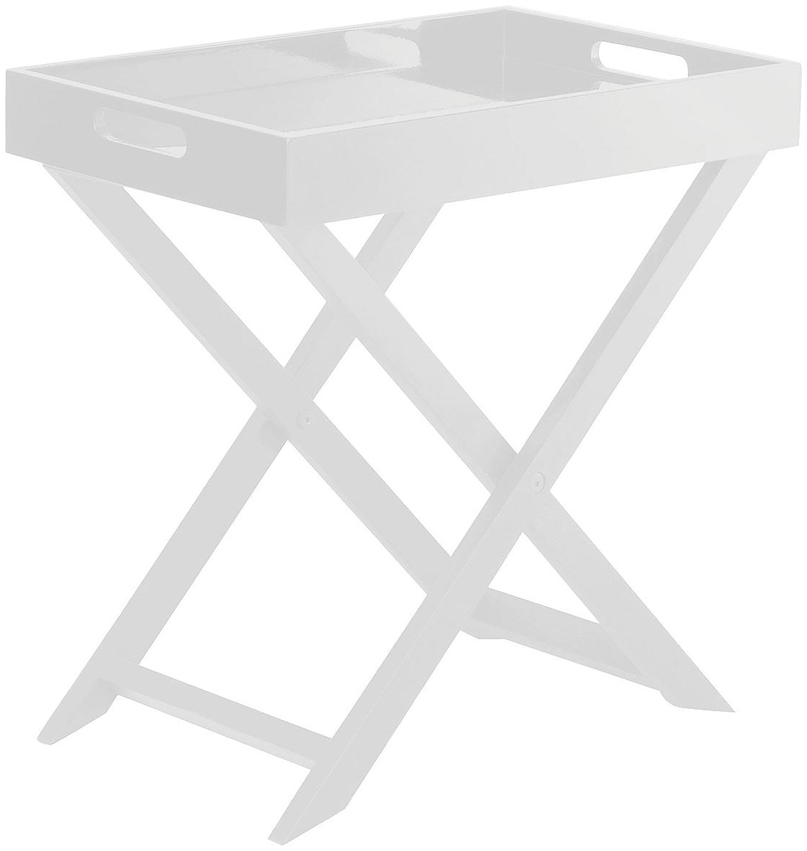 Habitat - Oken Small Occasional Table - White at Argos