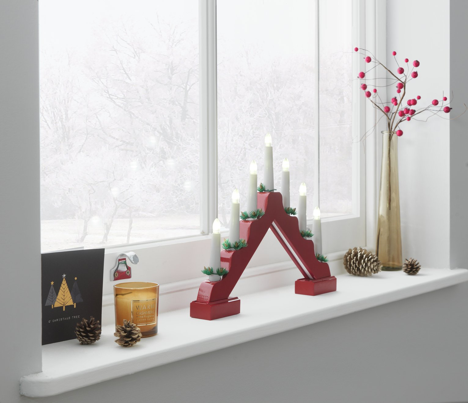 Candle Arch Christmas Light