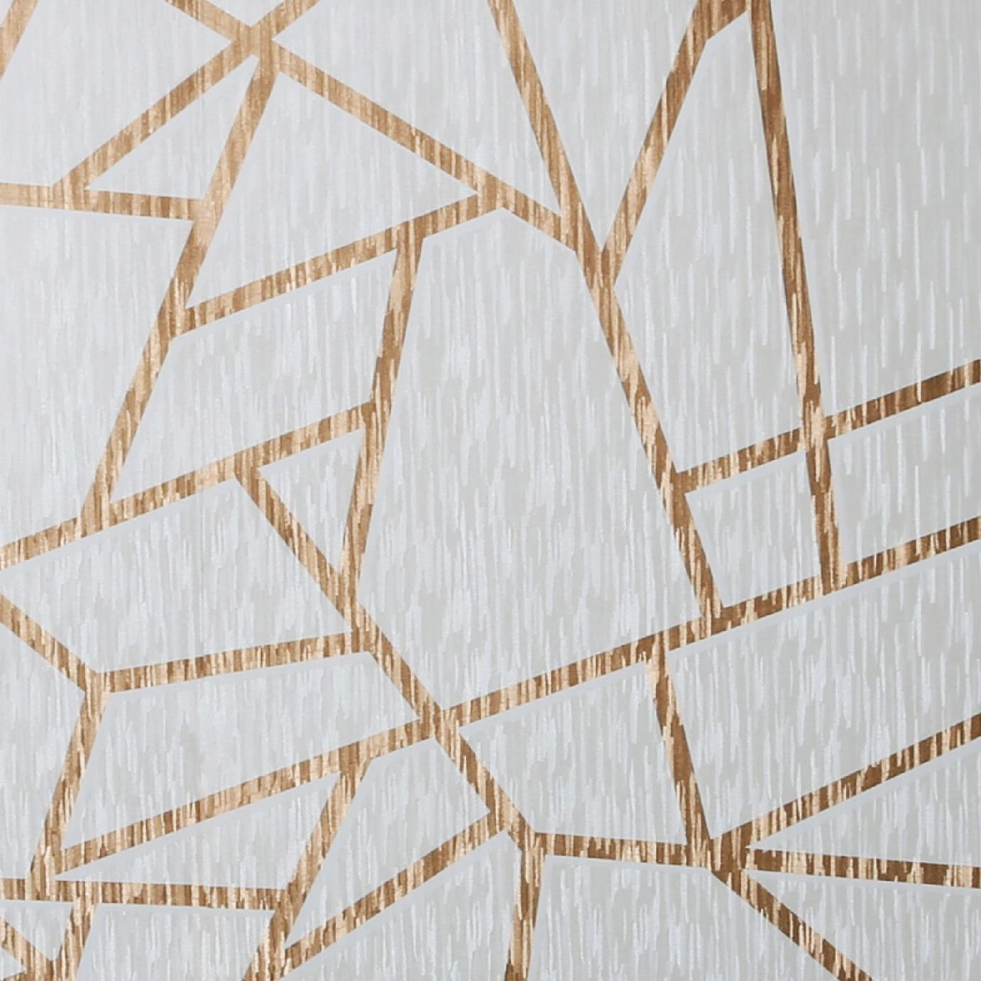 Graham & Brown Theia Geometric American Wallpaper - Gold