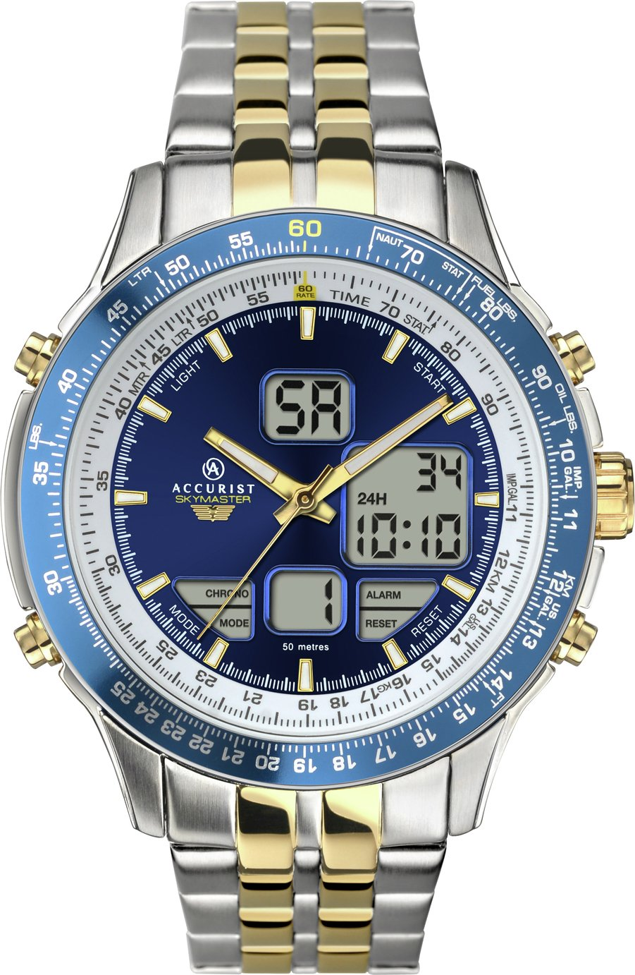 Accurist - Mens Chronograph - Watch with Interchangeable Strap