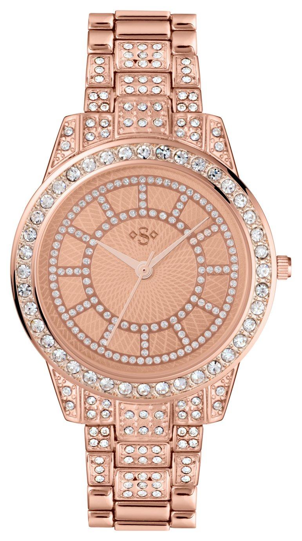 Spirit Lux - Ladies Rose Stone Set Bracelet - Watch
