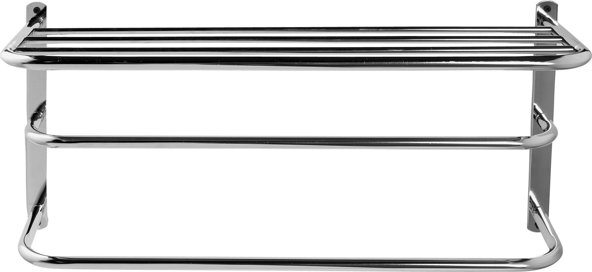 Argos Home - Metal - Towel Rail with Shelf
