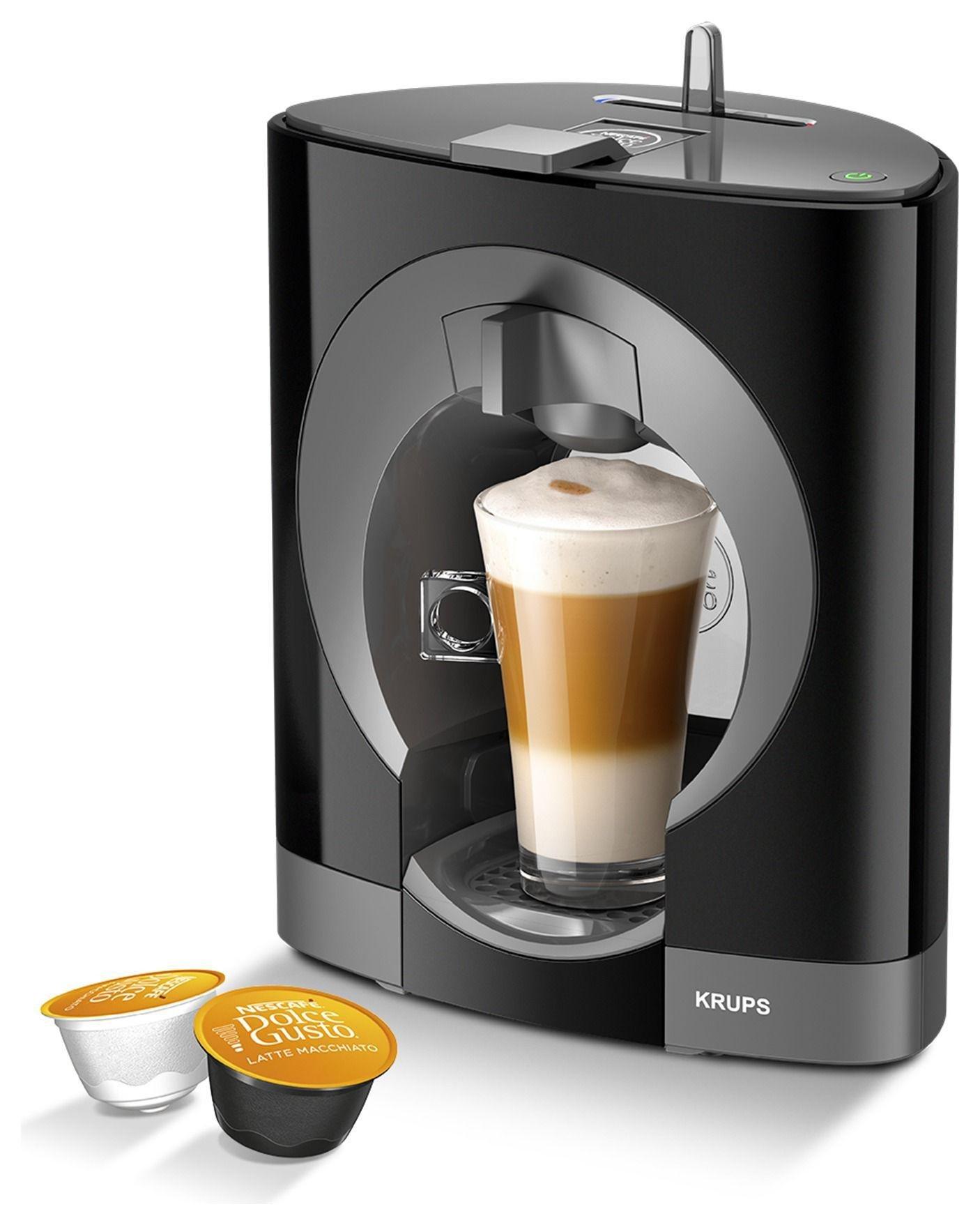 NESCAFE Dolce Gusto - Oblo Manual - Coffee Machine- Black