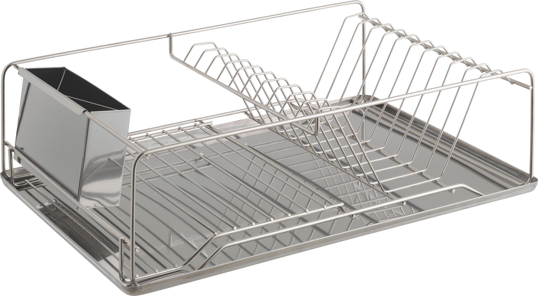 Habitat - Decker Stainless Steel Dish Drainer