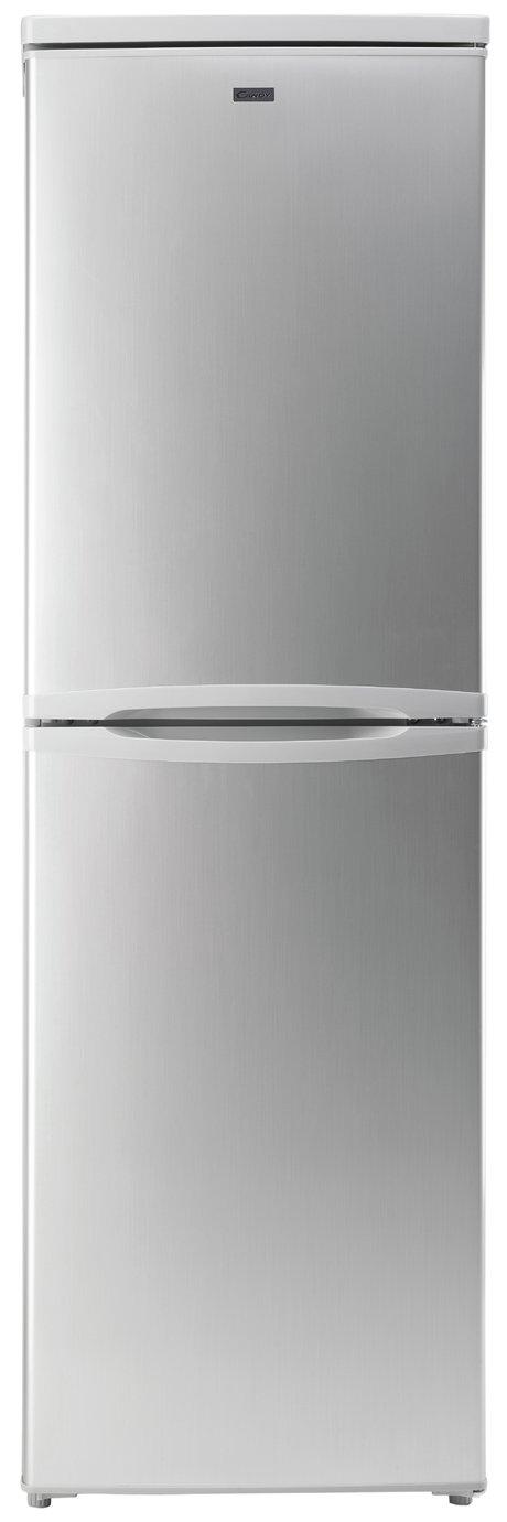 Candy CCBF5172AK Frost Free Tall Fridge Freezer - Silver
