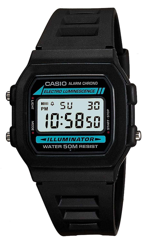 Casio - Mens Chronograph and Alarm Digital LCD - Watch