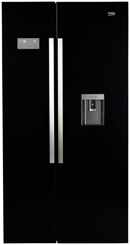 Beko ASD241B American Fridge Freezer - Black