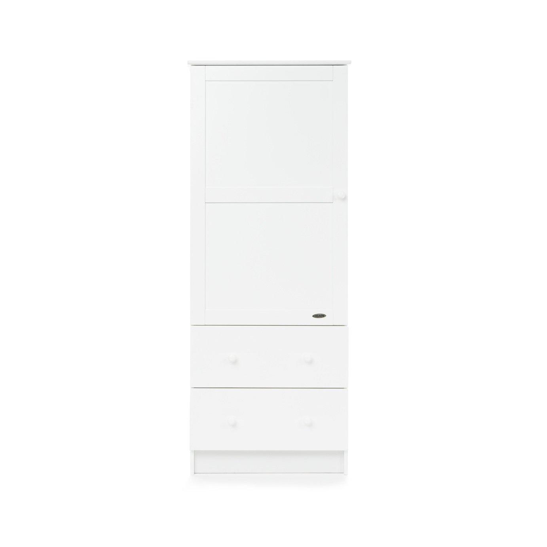 Obaby Single Wardrobe - White.