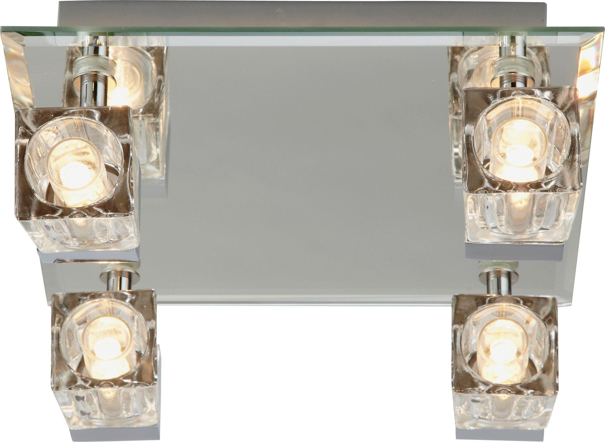 Argos Home - Mira Cube Bathroom 4 Spotlight Ceiling Plate