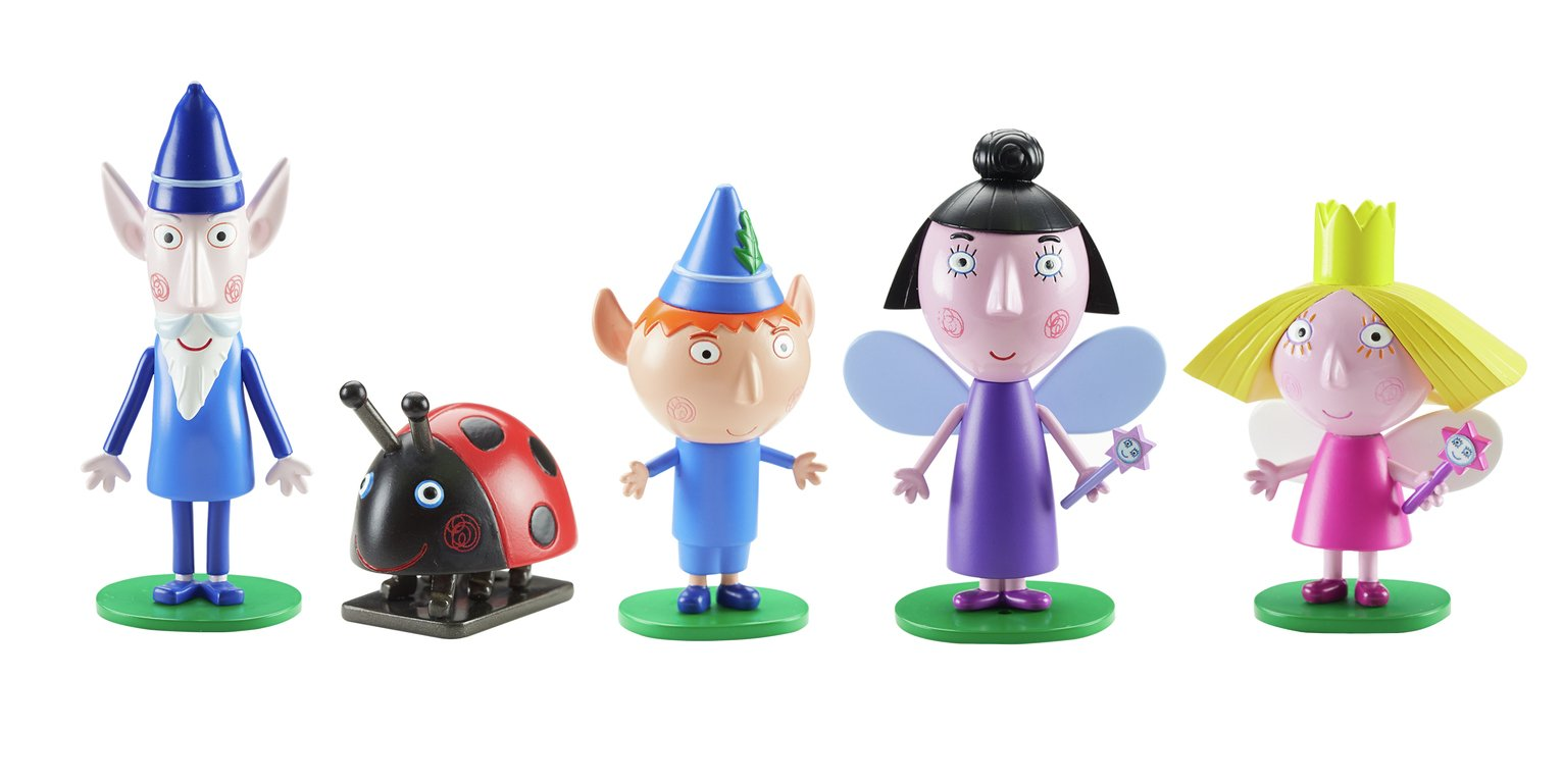 Ben and Holly's - Little Kingdom 5 Figure Pack