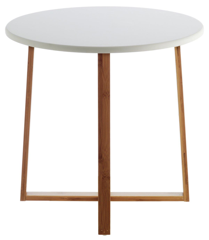 Habitat Drew Low Side Table - Bamboo at Argos
