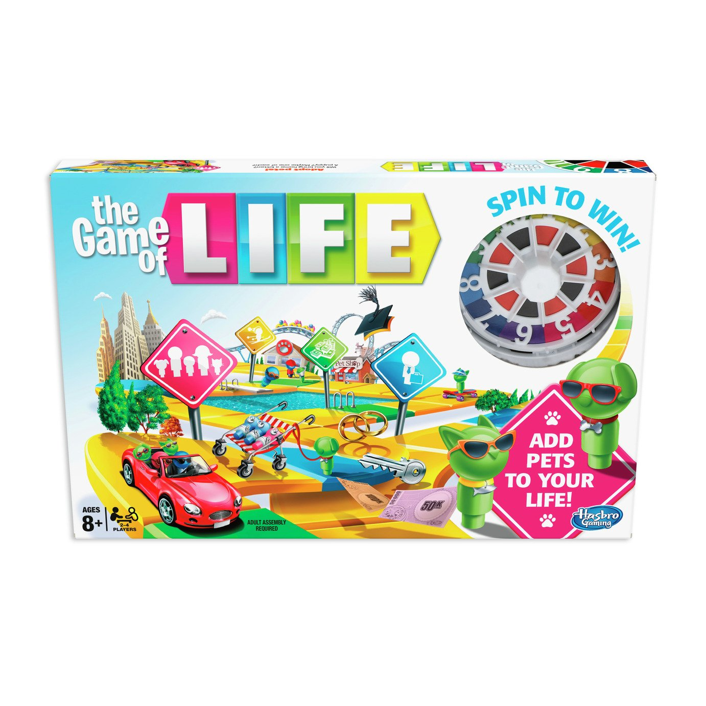 The Game of Life Classic Board Game from Hasbro Gaming