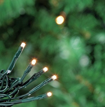 80 Multi-Function Warm White LED Lights