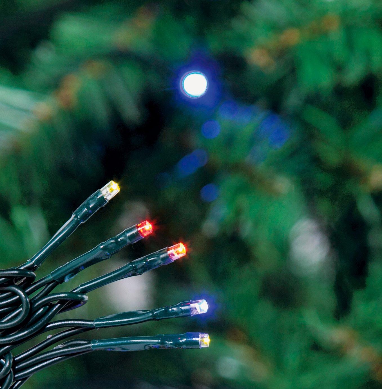 240 Multi-function LED Lights - Multicoloured