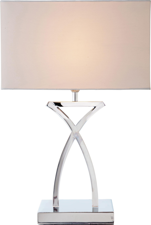 Argos Home Ashley Sculptural Table Light - Chrome