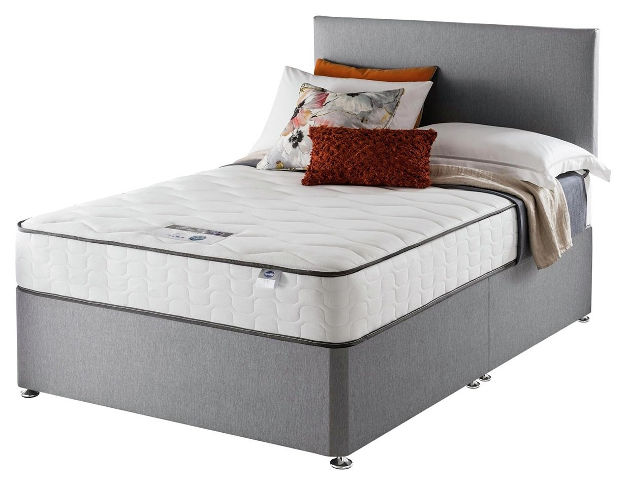 Silentnight - Harding Pocket Comfort - Double - Divan Bed at Argos