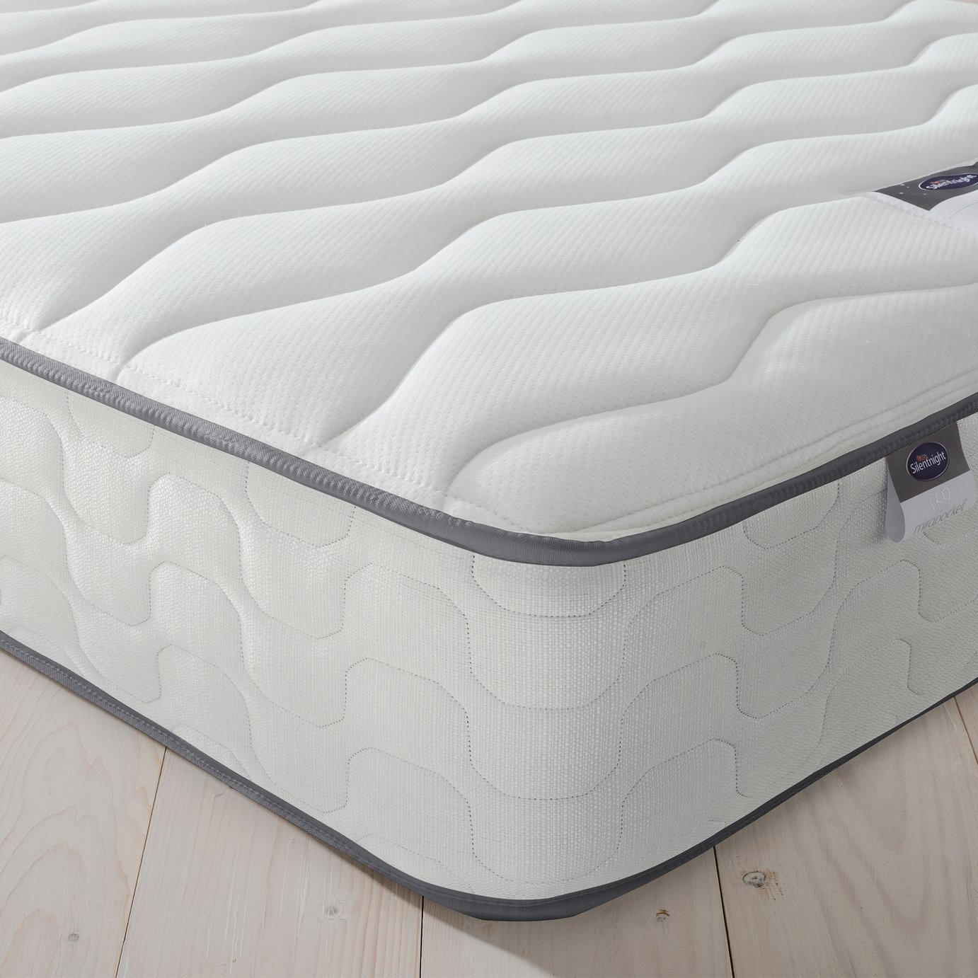 Silentnight - Harding Pocket Comfort - Single Mattress at Argos