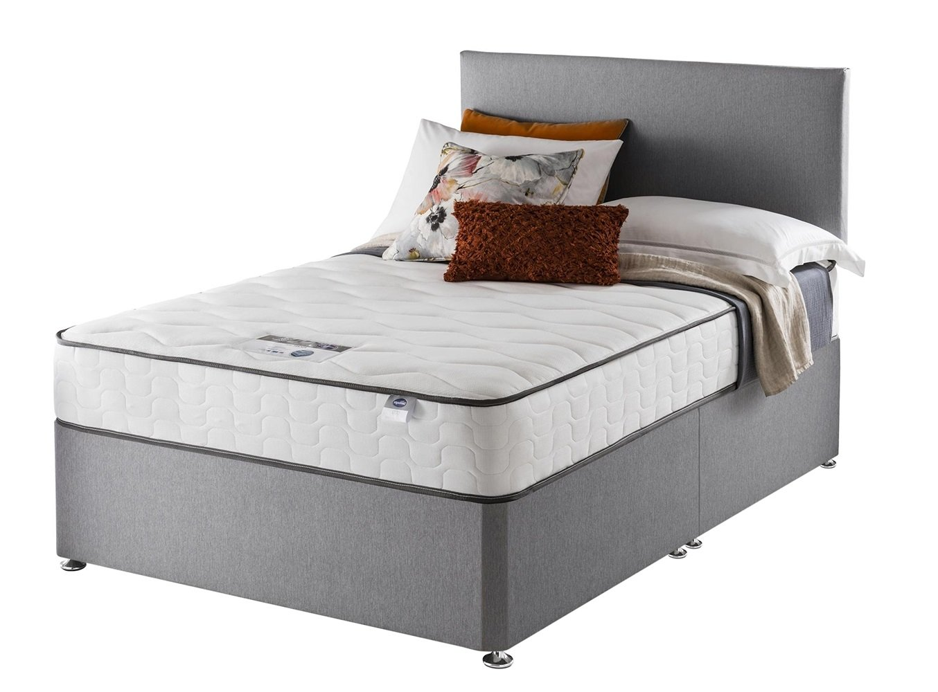 Silentnight - Harding Pocket Comfort - Kingsize - Divan Bed at Argos