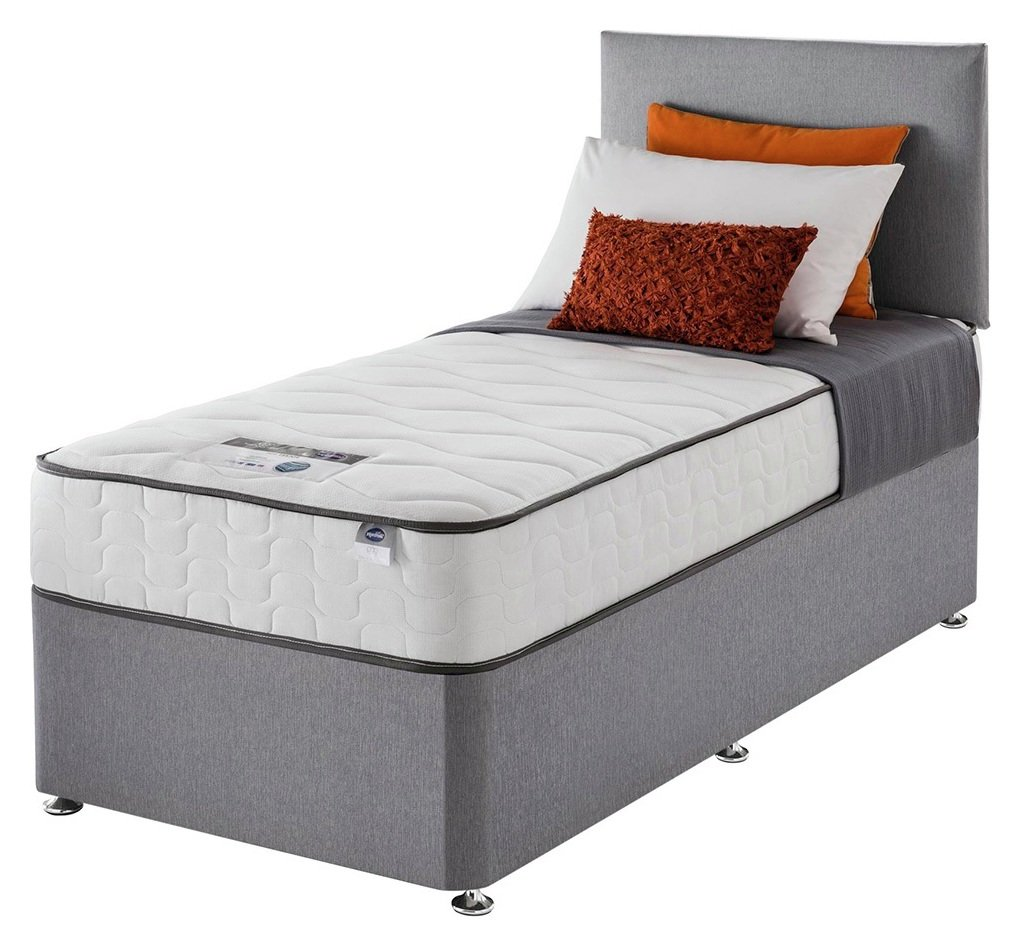 Silentnight - Harding Pocket Comfort Single - Divan Bed at Argos